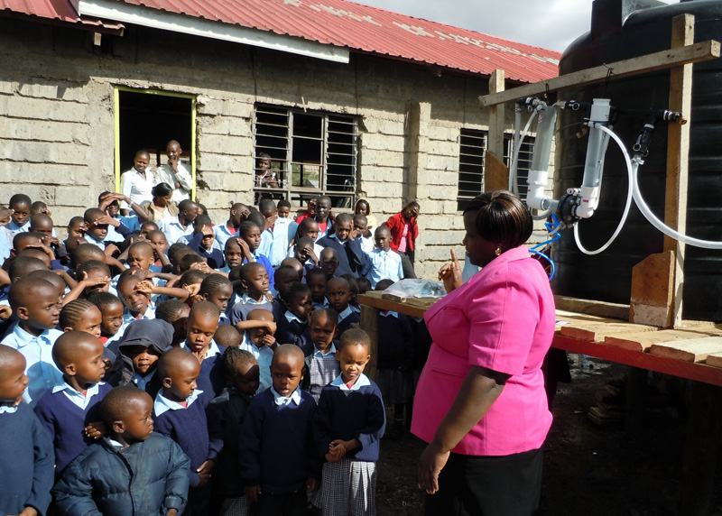 School in Kenya, 2011